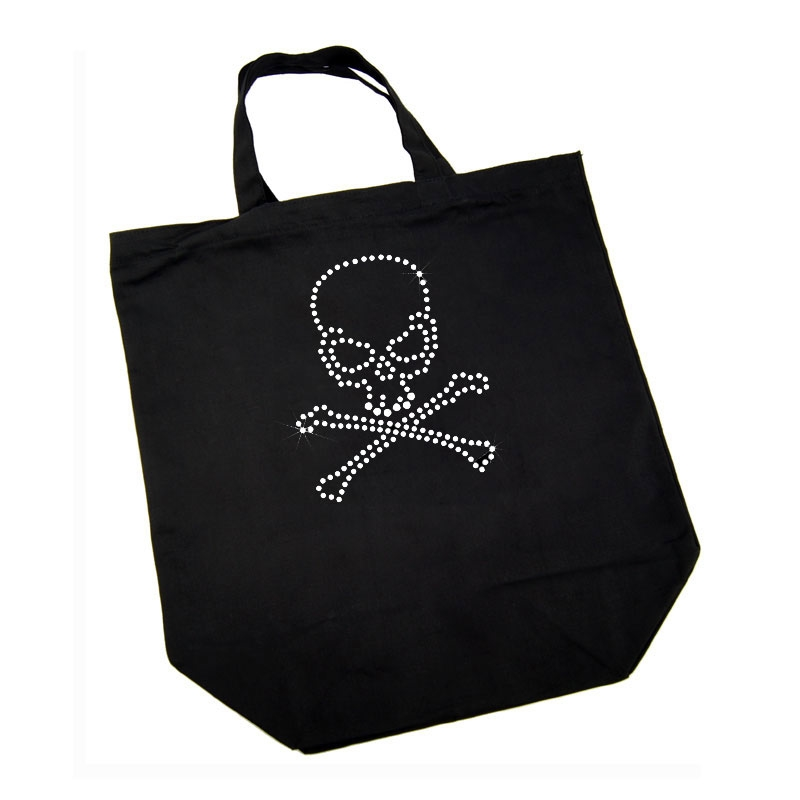 Cotton Bag - Skull and Crossed Bones