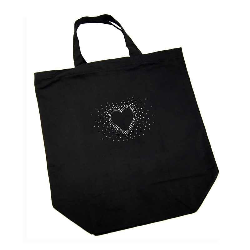 Cotton Bag - Heart Burst17