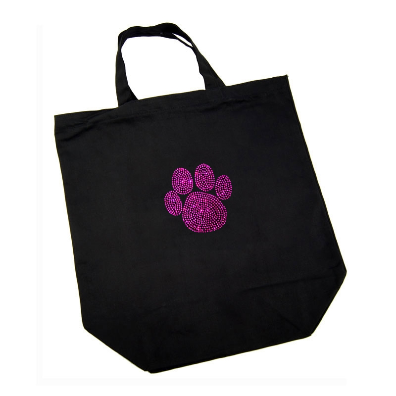 Cotton Bag - Pink Paw