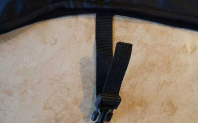 Why isn't the buckle on the waistbelt on my new sighthound coat fastened?