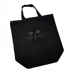 Cotton Bag - Cat Face