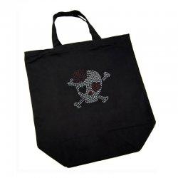 Cotton Bag - Skull with Heart Eye