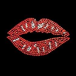 Cotton Bag - Red Kissy Lips