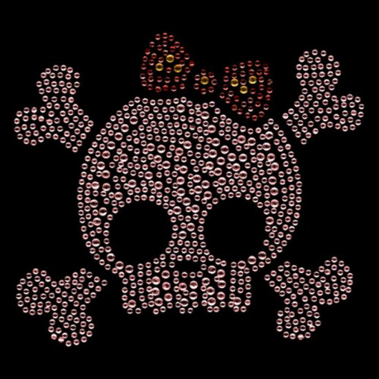 Cotton Bag - Pink Skull