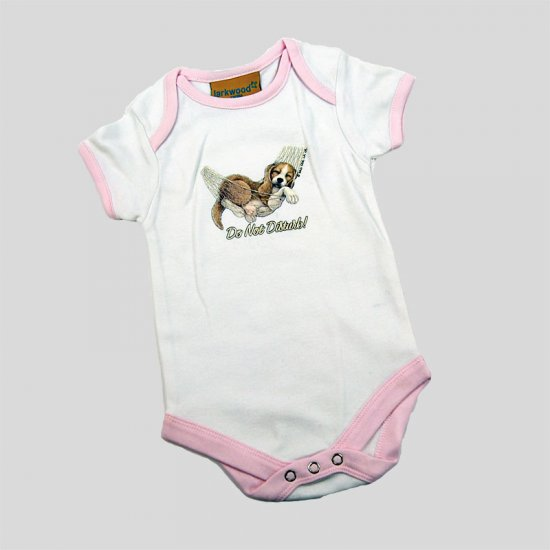 Baby Bodysuit Sleeping dog