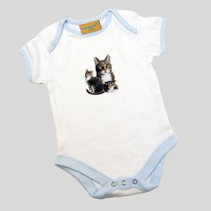 Baby Bodysuit Cat