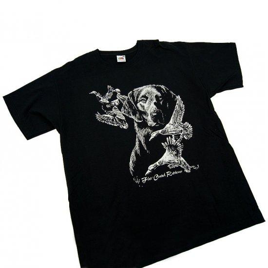 T-shirt Flat Coated Retriever