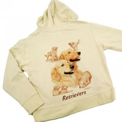 Hanes Spicy Hood Golden Retriever