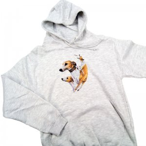 Awdis Collage Hoodie Whippet