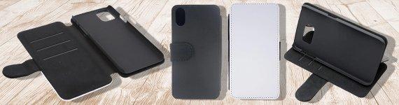 Pre Designed PU Leather Flip Cases