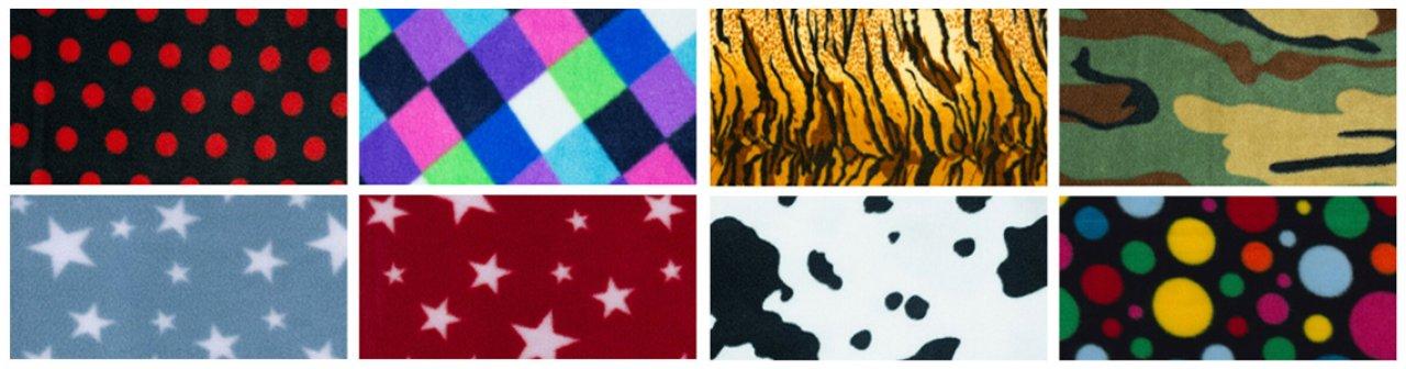 Temporary Fleece Fabrics