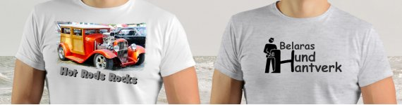 Design Your Own T-shirt - ST101