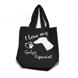 Galgo Español - Cotton Bag (vinyl print)
