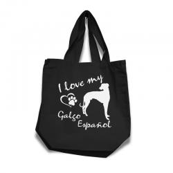 Galgo Español - Cotton Bag (vinyl print)
