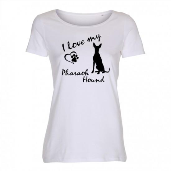 Faraohund - dam t-shirt