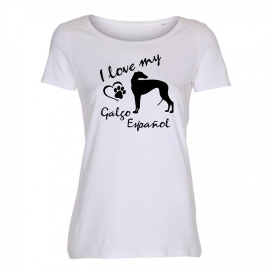 Galgo Español - dam t-shirt