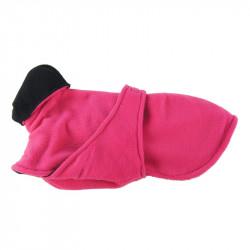 Fleecetäcke med bröstlapp - M