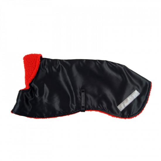 Winter Coat Black Beaver Nylon - S