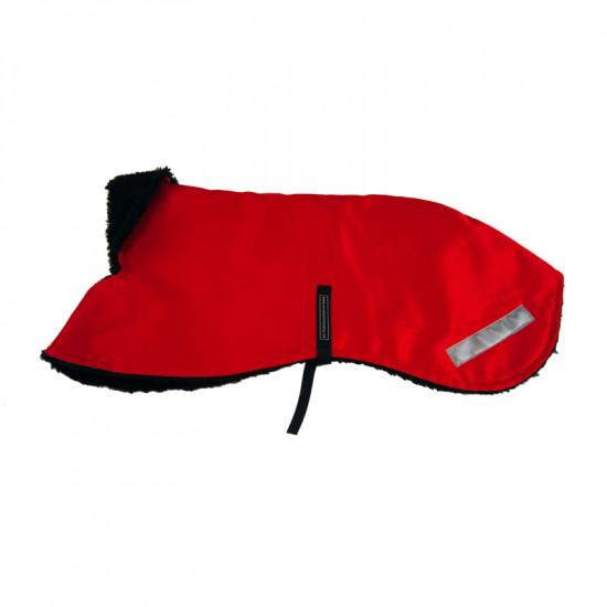 Winter Coat  Red Beaver Nylon - L