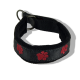 Embroidered Collar - Pawprints23