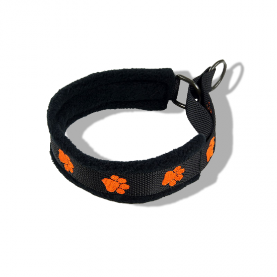 Embroidered Collar - Pawprints