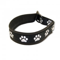 Reflective Collar with Paws