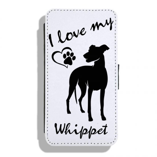 Whippet - Leather Flip Case