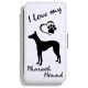 Pharaoh Hound- Leather Flip Case21