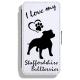 Staffordshire Bullterrier - Leather Flip Case21