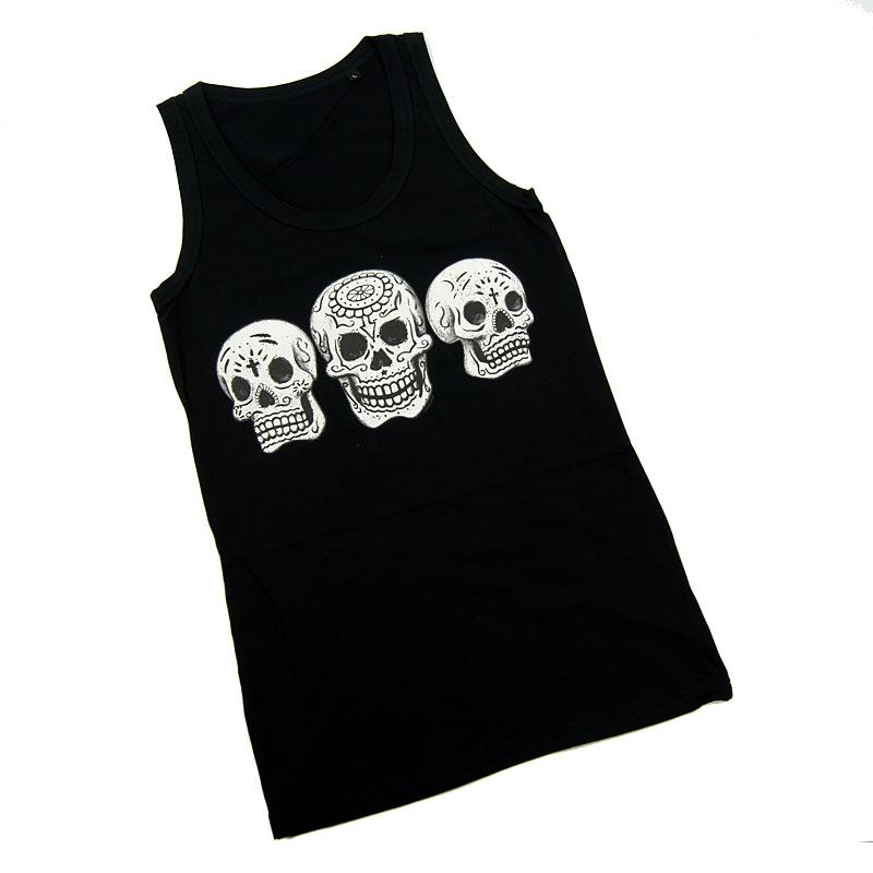 Ladies Sleeveless Skulls