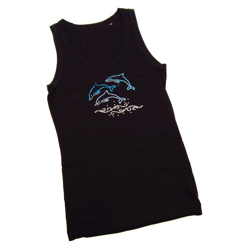 Ladies Sleeveless Dolphins