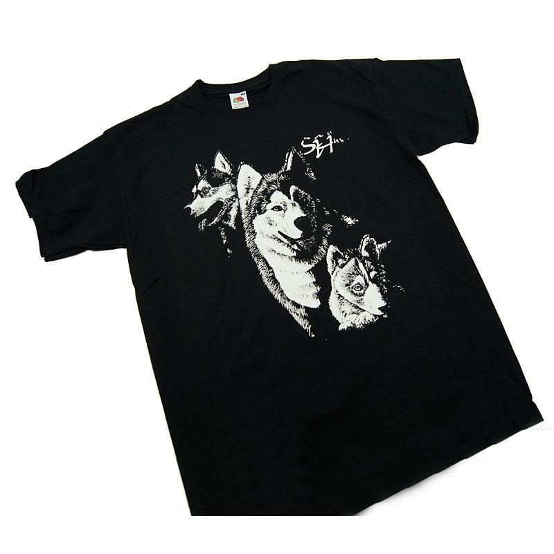 T-shirt Sibirian Husky