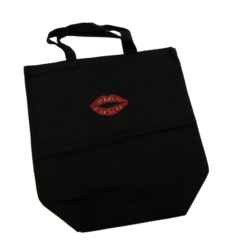 Canvas Bag Red Lips