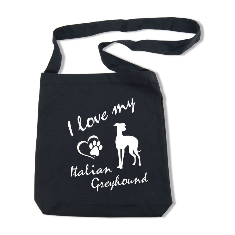 Italian Greyhound - Shoulder Bag17