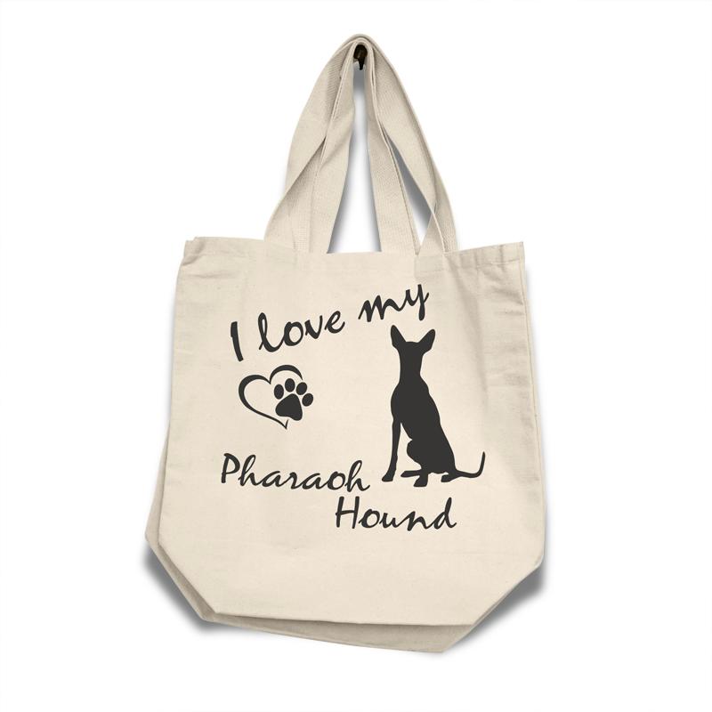 Pharaoh Hound - Cotton Bag (vinyl print)18