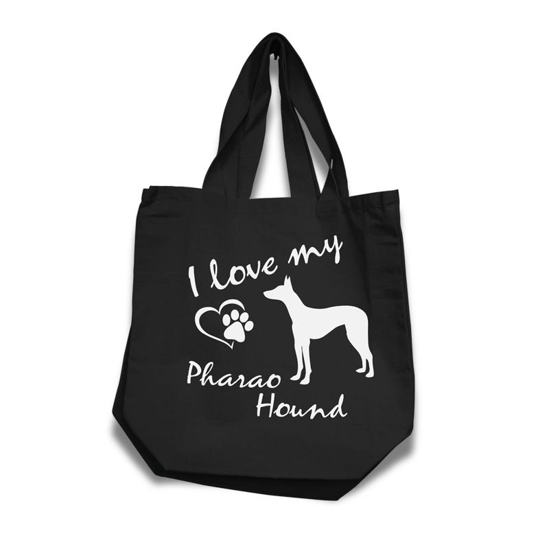 Pharaoh Hound - Cotton Bag (vinyl print)