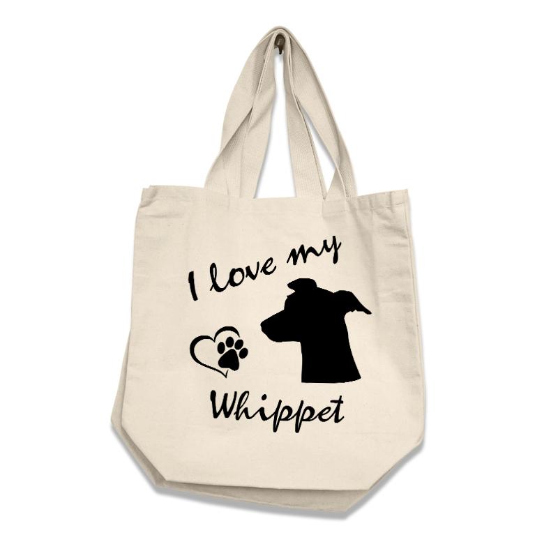 Whippet - Cotton Bag (vinyl print)18