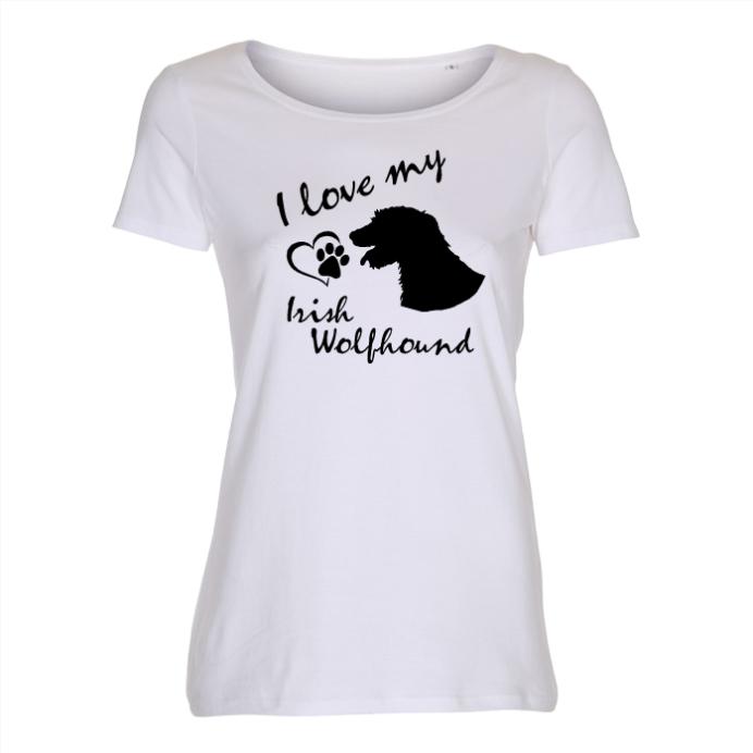 Irish Wolfhound - Lady T-shirt