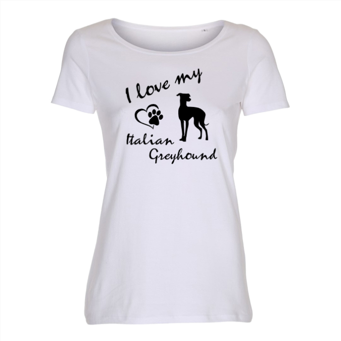 Italian Greyhound - Lady T-shirt