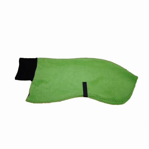 Fleece Coat Turtleneck - S