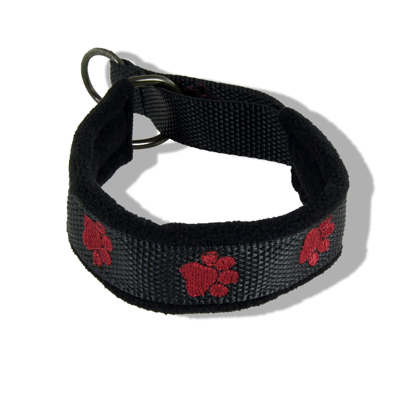 Embroidered Collar - Pawprints18