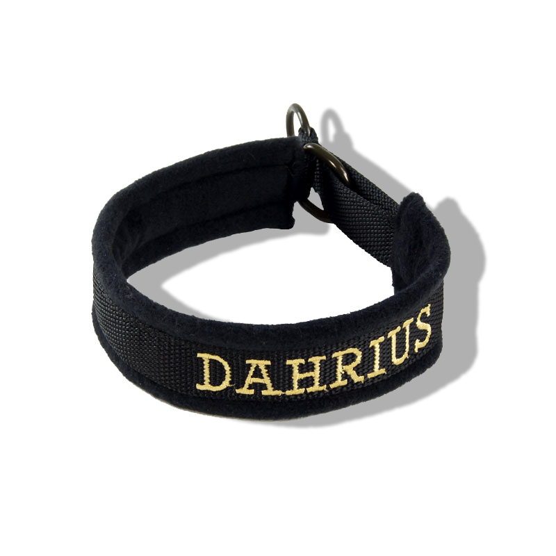 Embroidered Collar - Custom Text17