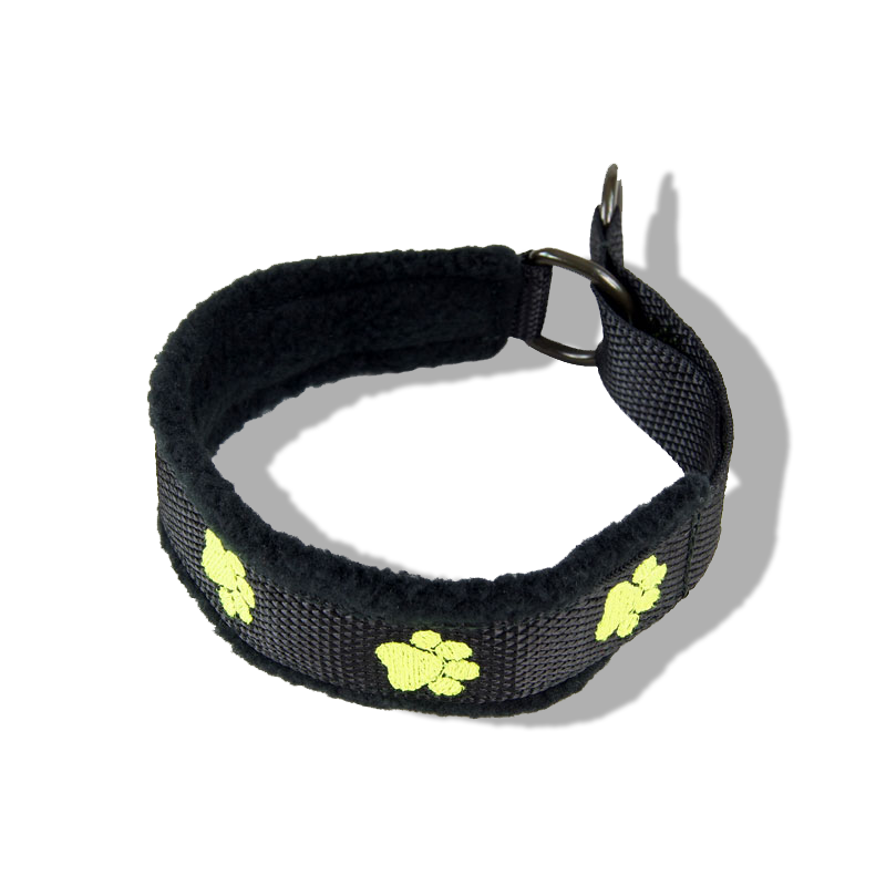 Embroidered Collar - Pawprints19