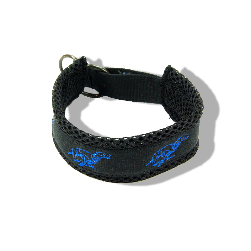 Embroidered Collar - Running Whippets