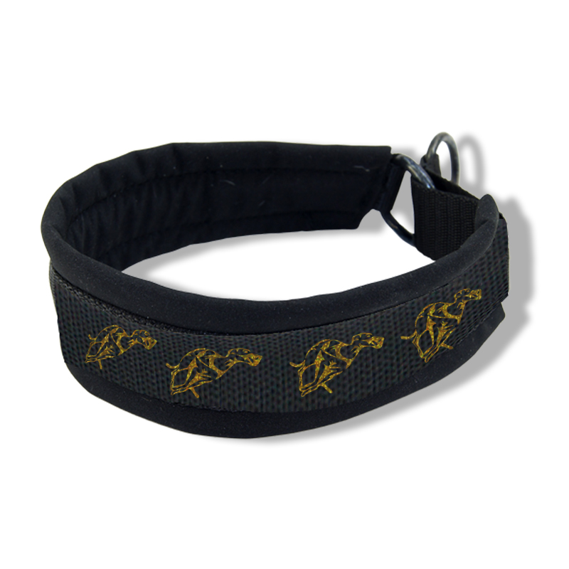 Printed Collar - Running Whippet