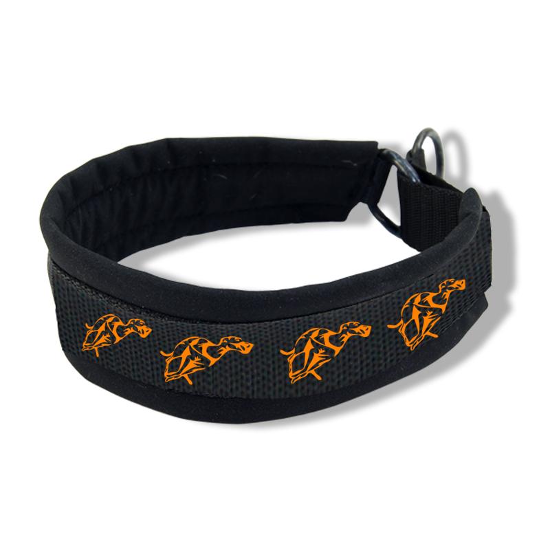Printed Collar - Running Whippet25