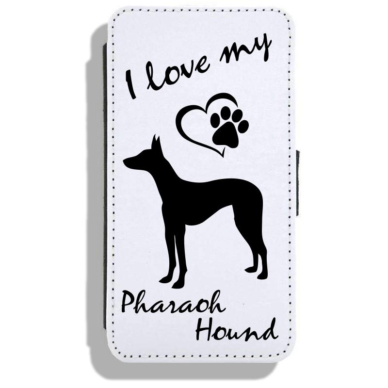 Pharaoh Hound- Leather Flip Case17