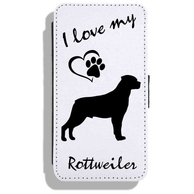 Rottweiler - Leather Flip Case17