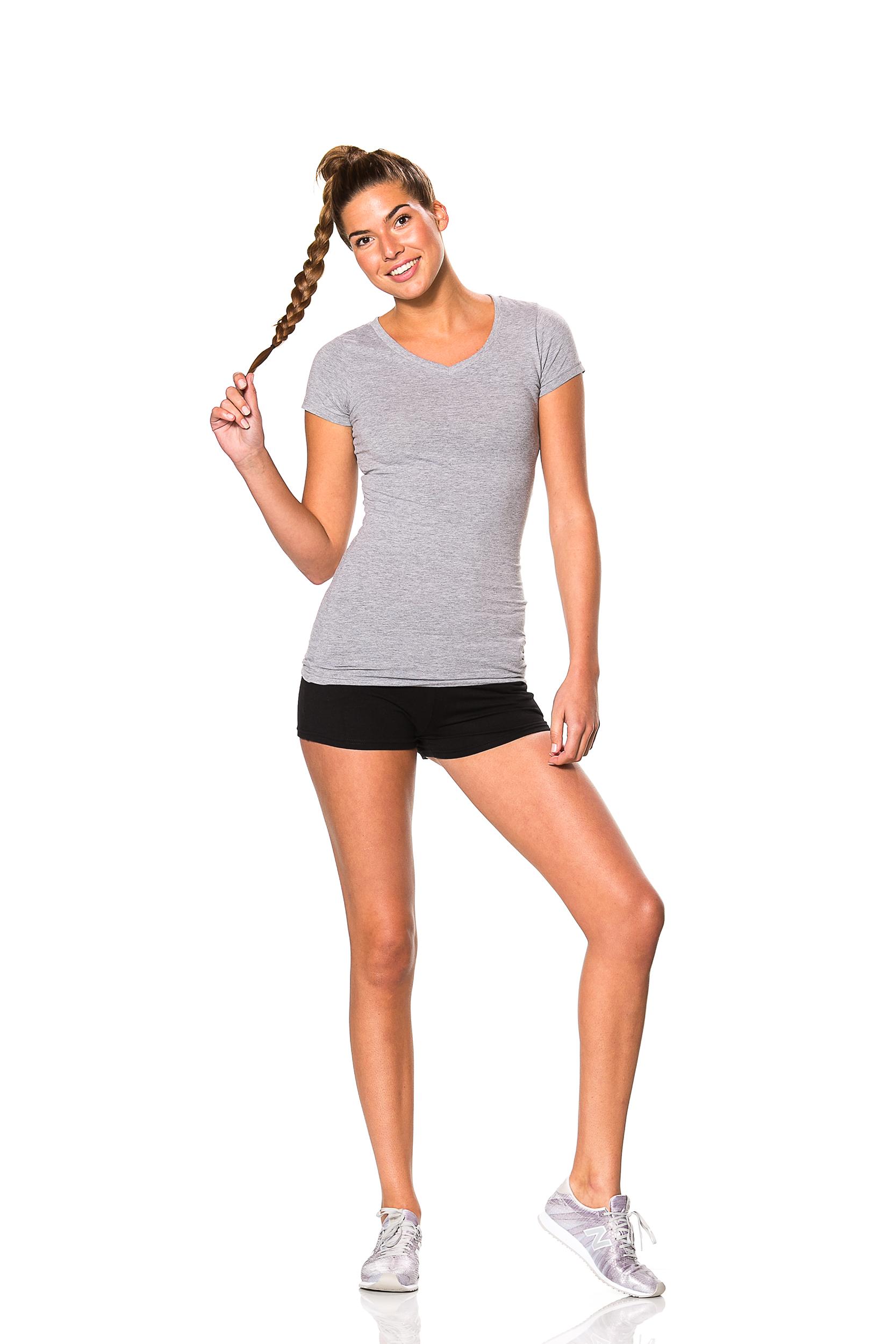 Ladies Short Sleeve Anchor
