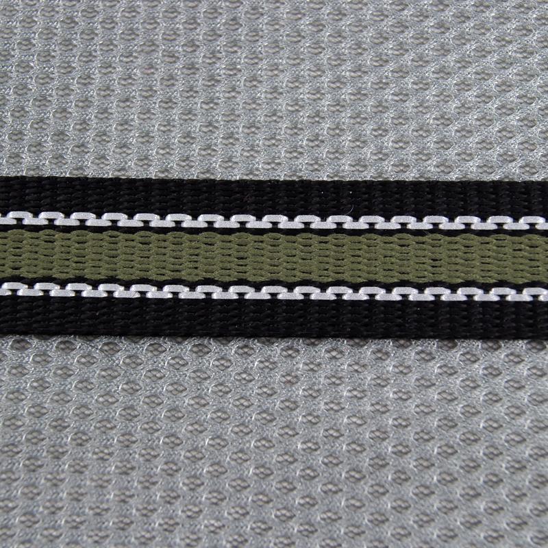 Olivgrön/silver